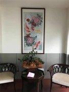 家中背景墙挂什么画好 走进画家羽墨花鸟世界