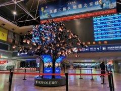 """2021新春""""网红""""打卡地哪家强?柔宇""""柔树""""在北京西"""